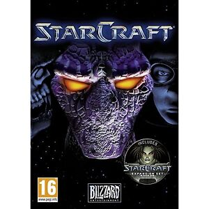 STARCRAFT + BROOD WAR EXPANSION PC & MAC SEALED NEW