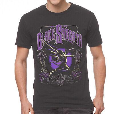 Black Sabbath The End Tour 2016 Cotton Black For Men T-shirt S-4XL YY500