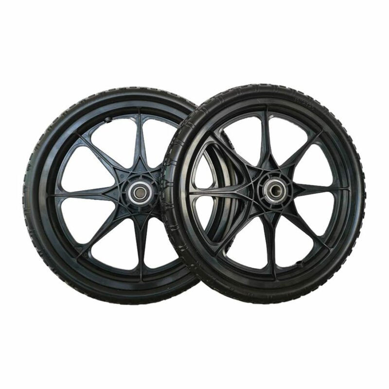 SLT Gdpodts 16 x 2.125 Inch Flat Free Foam Replacement Utility Tires, Set of 2