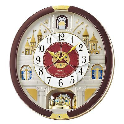 Seiko Melodies in Motion Clock 2016 Musical Christmas Wall Clock Collector NEW