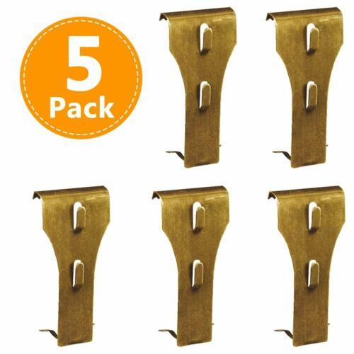Brick Clips for Hanging, Wall Pictures Wreath Lights Hanger Metal Hooks