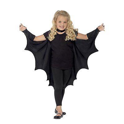 Child Vampire Bat Wings Kids Dracula Halloween Fancy Dress Boys Girls - Dracula Girl Kostüm