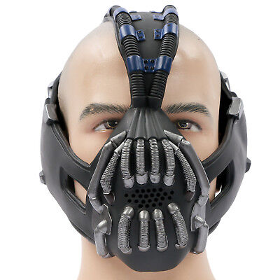 Limited Time Bane Gun Metal Mask Batman Cosplay Replica Mask for Halloween - Bane For Halloween