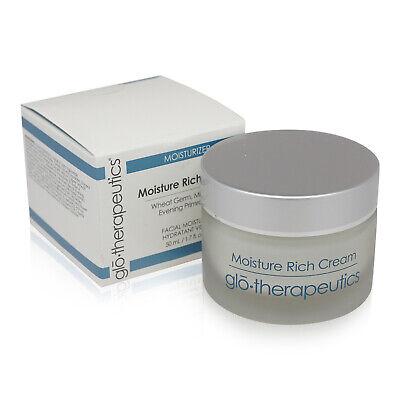 Glo Therapeutics Moisture Rich Cream Facial Moisturizer 50 ml / 1.7 oz New inBox