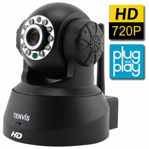Tenvis Hd Wireless Ip Security Camera Motion Detection Ni...