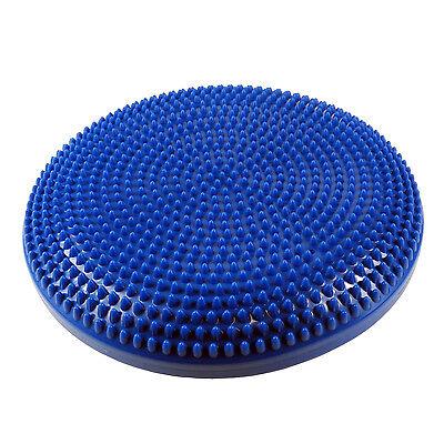 Sitzkissen Noppenkissen Massagekissen Balance Kissen Durchmesser 34cm blau