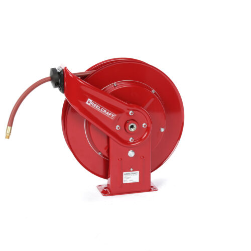 REELCRAFT 7850 OLP 1/2 x 50 ft Hose Reel Industrial Air & water, 300 PSI, USA