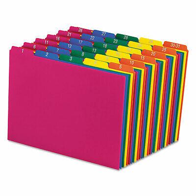Pendaflex Top Tab File Guides Daily1-31 15 Tab Polypropylene Letter 31set
