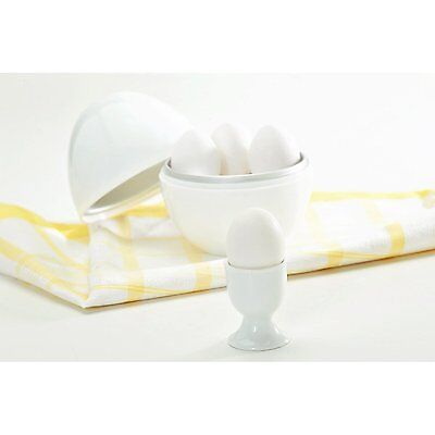 Nordic Ware Microwave Egg Boiler/Cooker/White/Plastic New Free Shipping