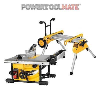 DeWalt DWE7485 & DE7400 240V 210mm Table Saw With Stand Set
