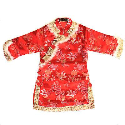 Girl Dress Coat (Girl Chinese Traditional Dress Coat Mandarin Gown Luna New)