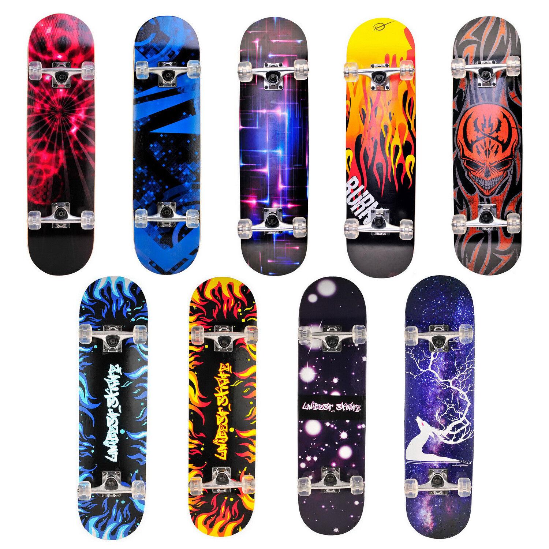 "Blank Skateboard Decks 5x 8.50/"" NATUR Möbel Bau Deko Graffiti bemalen"