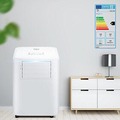 4IN1 9000BTU Portable Mobile Air Conditioner Unit Fan Dehumidifier Remote EER A