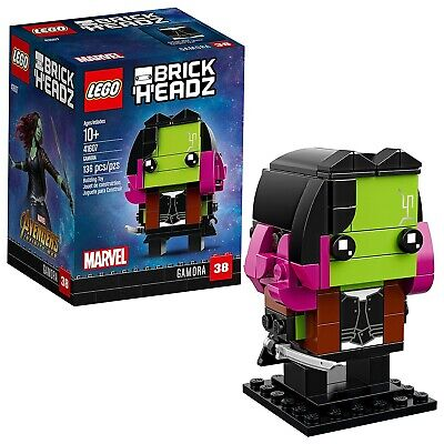 LEGO Brick 'H'EADZ Marvel Avengers Infinity War GAMORA Buildable Figure 41607