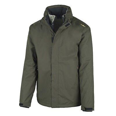 CMP giacca da esterno funzionale verde climaprotect caldo