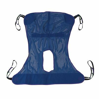 Drive Medical Full Body Patient Lift Sling W/ Commode Cutout 13221M 53