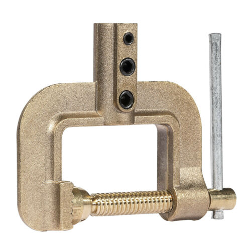 400A C Welding Ground Clamp Solid Brass C Earth Clamp for TIG MIG Stick Welder