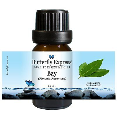 Essential Oils 100  Pure Therapeutic Grade Butterfly Express Bay 10 Ml