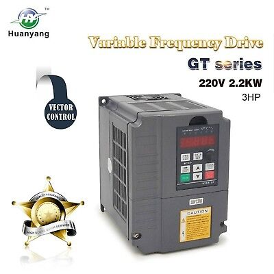 Vector Control Cnc Vfd Variable Frequency Drive Controller Inverter Converter...