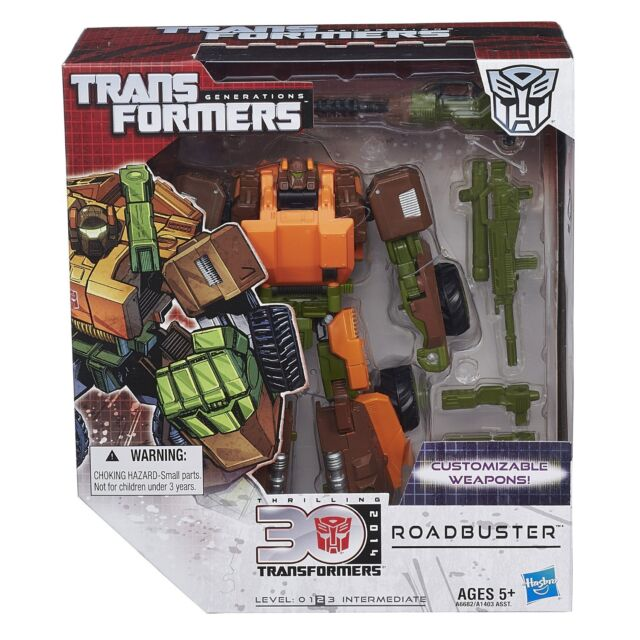 Roadbuster Voyager Class Level 2 Transformers Generations 30th Figur Hasbro