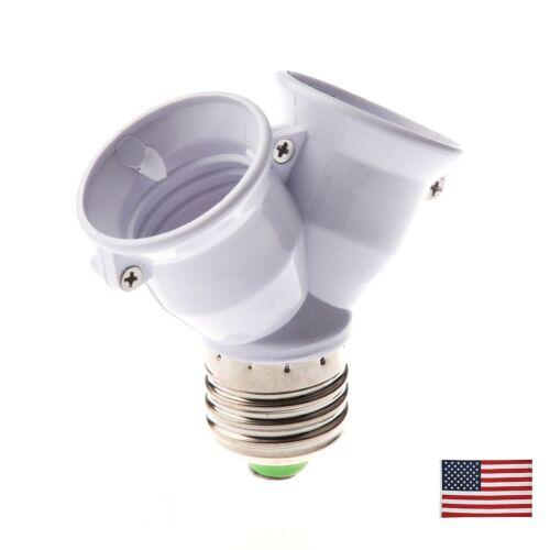 TOOGOO E27 1 to 2 E27 LED Light Lamp Bulb Adapter Converter