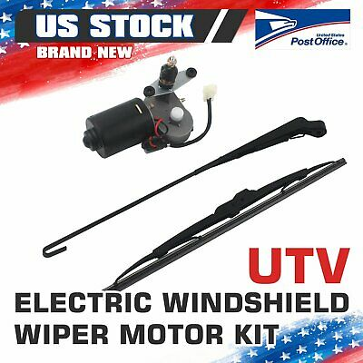 UTV Electric Windshield Wiper Motor Kit tank for Polaris Ranger RZR 900