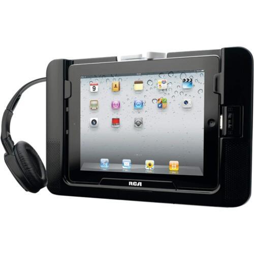 RCA Mobile Sound System w/ Wireless Headphones for iPad, iPad 2 (RPD663) [LN]™
