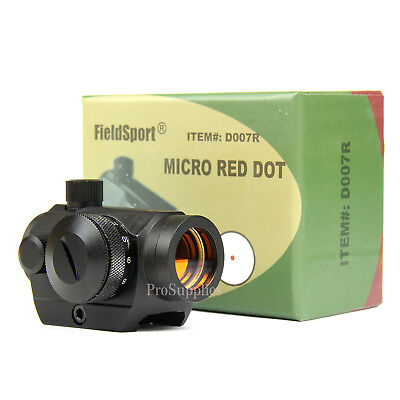 Field Sport 4Moa Red Dot Reflex Sight Low Profile Micro 20Mm Mount
