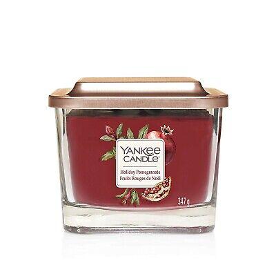 Yankee Candle Elevation medium jar Holiday Pomegranate
