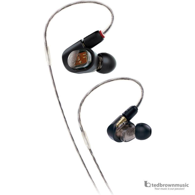 Audio-Technica In-Ear Headphones Black ATH-E70