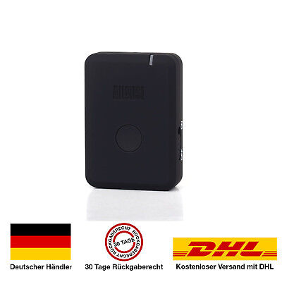 August MR250 Bluetooth Wireless Audio Transmitter Sender für TV und Hifi