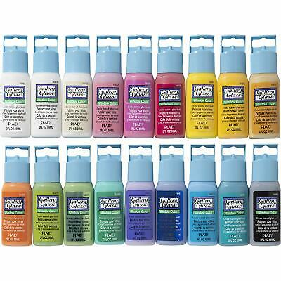 Gallery Glass Window Color Paint Set (2-oz), PROMOGGII Best Selling Colors
