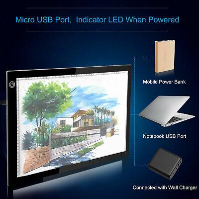A3 LED Light Box Pad Slim Copyboard Tracing Drawing Board Graphic Tablet R3B2
