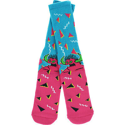 Toy Machine Skateboards 80's Monster Crew Socks Toy Machine Monster Socks