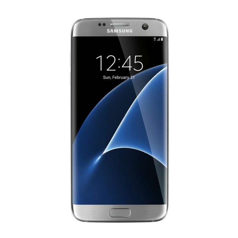 Samsung Galaxy S7 edge 32GB Silver Titanium (Verizon Wireless) SMG935VZSA