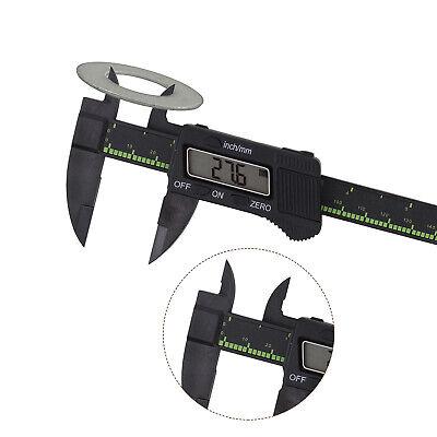 Profesional 150mm (15.2cm) Pantalla LCD Digital Vernier Calibre Precisión Tool
