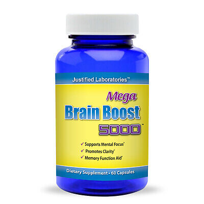 Brain Supplement Pills Boost Nootropic Better Focus Memory Concentration Energy