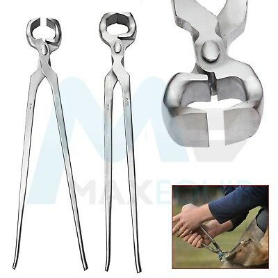 HOOF PIN CUTTER 12'' Nipper Farriers Trimmer Tool Veterinary Steel AUTHENTIC ce