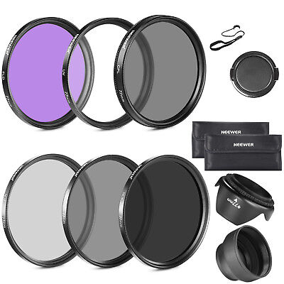 Neewer 77MM Lens Filter Accessory Kit For Canon,Nikon and Other Camera Lens