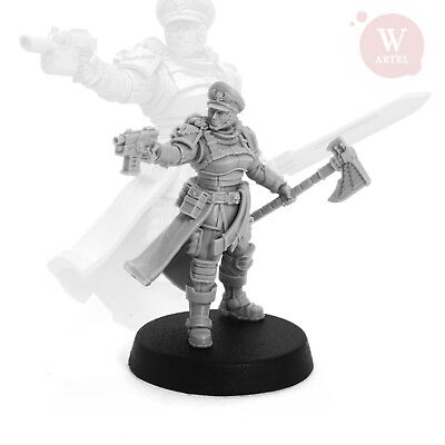 "Commissar Raivel Heart of Darkness edition Imperium Armee Artel ""W"" Miniatures"
