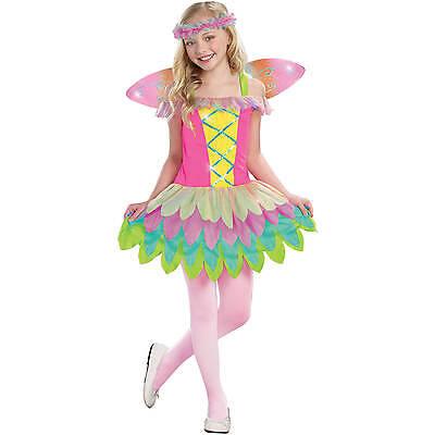 New Rainbow Sprite Girls Fairy Child Halloween Costume - Rainbow Fairy Costumes