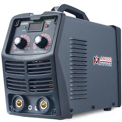 Mma-160 160 Amp Stick Arc Dc Inverter Welder 110v 230v Dual Voltage Welding