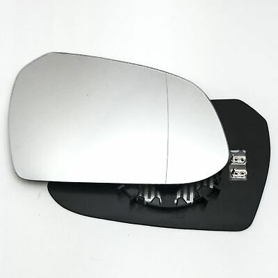 uxcell 140 x 105mm Cars Self Adhesive Convex Rearview Blind Spot Mirror Black