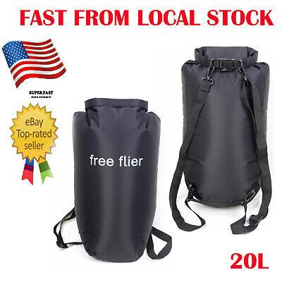 Waterproof Dry Bag Lightweight 20L Backpack for Kayaking Boating Duffle Gym Lightweight Dry Bag