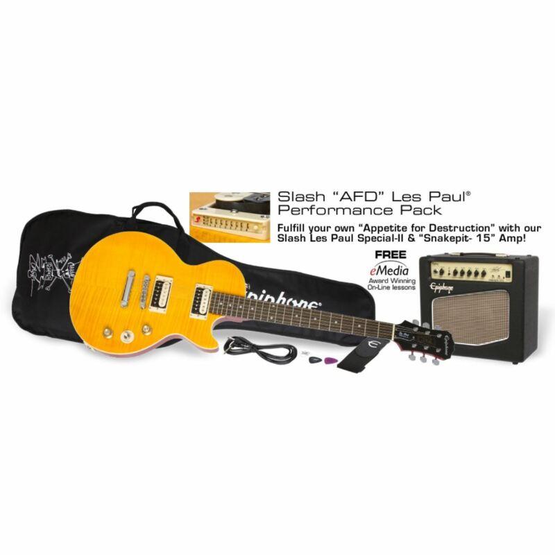 Epiphone Slash AFD Les Paul Performance Pack