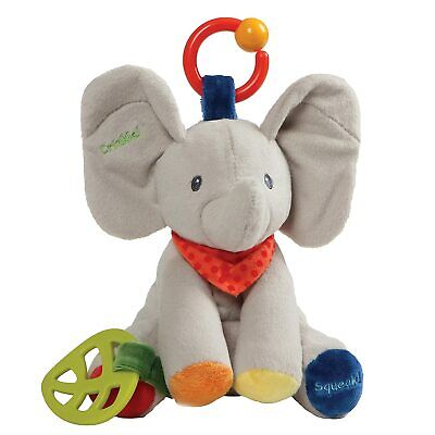 "Baby Gund 8.5"" Flappy the Elephant Educational Activity Plush Stuffed Animal"