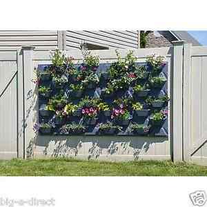 Plantscape large hex vertical garden wall hanging plant for Vertical garden panels