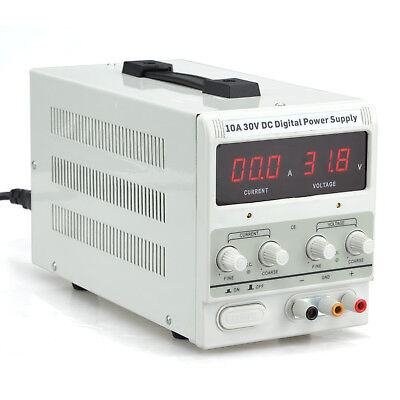 10A 30V DC Power Supply   Adjustable Dual Digital Variable Precision   Lab Grade