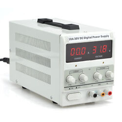 10A 30V DC Power Supply | Adjustable Dual Digital Variable Precision | Lab Grade