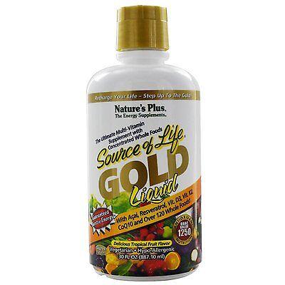 Natures Plus Source of life Gold liquid 30 FL OZ(887.10 ml)
